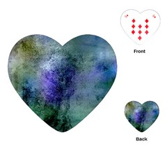 Background Texture Structure Playing Cards (heart)