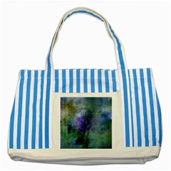 Background Texture Structure Striped Blue Tote Bag