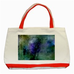 Background Texture Structure Classic Tote Bag (red)