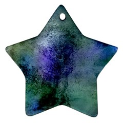 Background Texture Structure Star Ornament (two Sides)