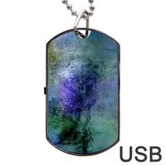 Background Texture Structure Dog Tag Usb Flash (two Sides)