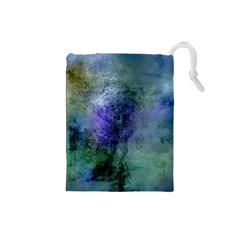 Background Texture Structure Drawstring Pouches (small)