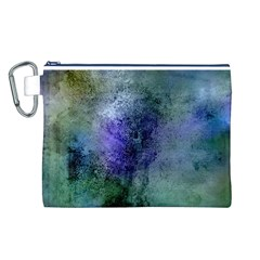 Background Texture Structure Canvas Cosmetic Bag (l)