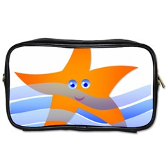 Beach Sea Sea Shell Swimming Toiletries Bags