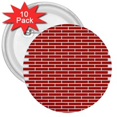 Brick Lake Dusia Texture 3  Buttons (10 Pack)