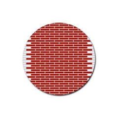 Brick Lake Dusia Texture Rubber Round Coaster (4 Pack)