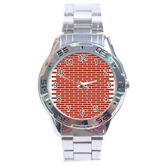 Brick Lake Dusia Texture Stainless Steel Analogue Watch