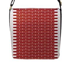 Brick Lake Dusia Texture Flap Messenger Bag (l)