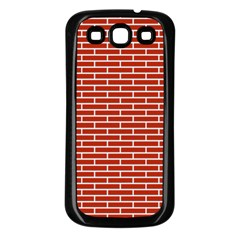 Brick Lake Dusia Texture Samsung Galaxy S3 Back Case (black)