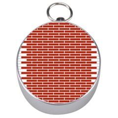 Brick Lake Dusia Texture Silver Compasses