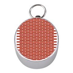 Brick Lake Dusia Texture Mini Silver Compasses