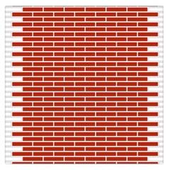 Brick Lake Dusia Texture Large Satin Scarf (Square)