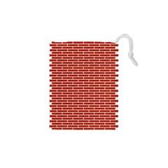 Brick Lake Dusia Texture Drawstring Pouches (xs)