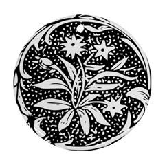 Decoration Pattern Design Flower Ornament (round)