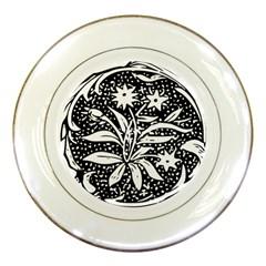 Decoration Pattern Design Flower Porcelain Plates