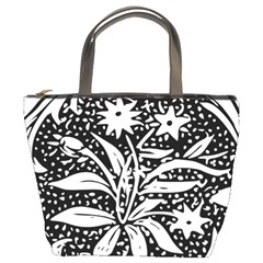 Decoration Pattern Design Flower Bucket Bags