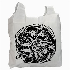 Decoration Pattern Design Flower Recycle Bag (two Side)