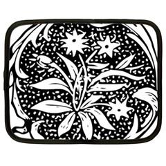 Decoration Pattern Design Flower Netbook Case (xxl)