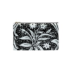 Decoration Pattern Design Flower Cosmetic Bag (small)