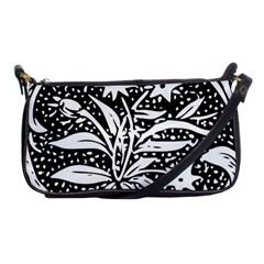 Decoration Pattern Design Flower Shoulder Clutch Bags