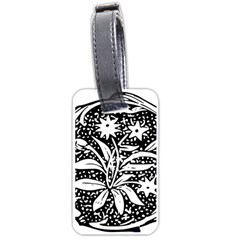 Decoration Pattern Design Flower Luggage Tags (one Side)