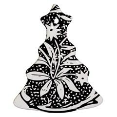 Decoration Pattern Design Flower Ornament (christmas Tree)