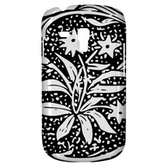 Decoration Pattern Design Flower Galaxy S3 Mini