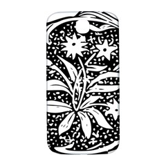 Decoration Pattern Design Flower Samsung Galaxy S4 I9500/i9505  Hardshell Back Case