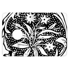 Decoration Pattern Design Flower Kindle Fire Hdx Flip 360 Case