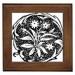 Decoration Pattern Design Flower Framed Tiles