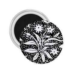 Decoration Pattern Design Flower 2 25  Magnets