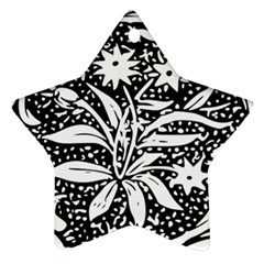 Decoration Pattern Design Flower Star Ornament (two Sides)