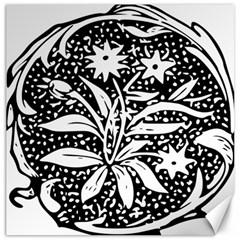 Decoration Pattern Design Flower Canvas 12  X 12