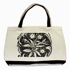 Decoration Pattern Design Flower Basic Tote Bag (two Sides)