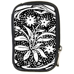 Decoration Pattern Design Flower Compact Camera Cases