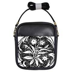 Decoration Pattern Design Flower Girls Sling Bags