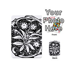 Decoration Pattern Design Flower Playing Cards 54 (Mini)