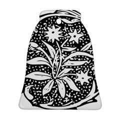 Decoration Pattern Design Flower Bell Ornament (two Sides)