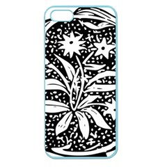 Decoration Pattern Design Flower Apple Seamless Iphone 5 Case (color)