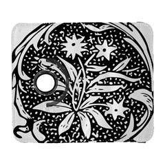 Decoration Pattern Design Flower Galaxy S3 (flip/folio)