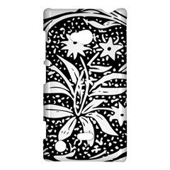 Decoration Pattern Design Flower Nokia Lumia 720