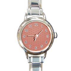 Brick Lake Dusia Wall Round Italian Charm Watch