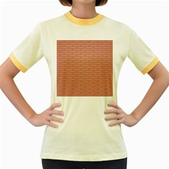 Brick Lake Dusia Wall Women s Fitted Ringer T-Shirts