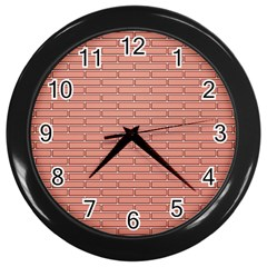 Brick Lake Dusia Wall Wall Clocks (black)