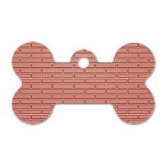 Brick Lake Dusia Wall Dog Tag Bone (two Sides)