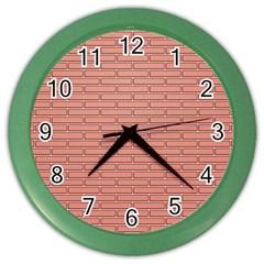 Brick Lake Dusia Wall Color Wall Clocks