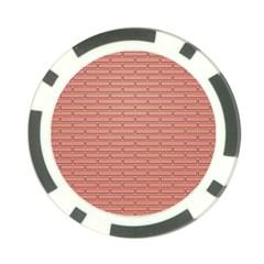 Brick Lake Dusia Wall Poker Chip Card Guard