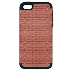 Brick Lake Dusia Wall Apple Iphone 5 Hardshell Case (pc+silicone)