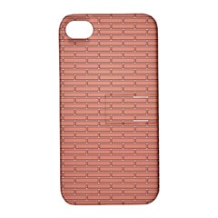Brick Lake Dusia Wall Apple Iphone 4/4s Hardshell Case With Stand