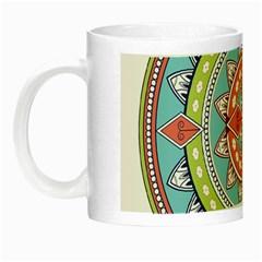 Drawing Mandala Art Night Luminous Mugs